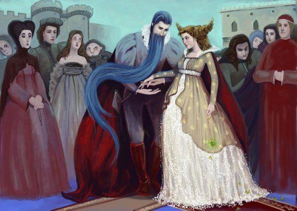 Сказка Синяя Борода